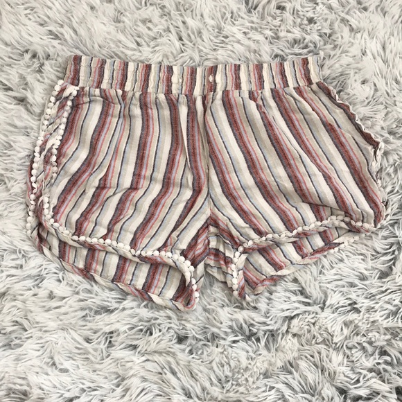 Aeropostale Pants - Striped shorts